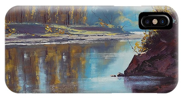 Autumn Reflections Tumut River Phone Case by Graham Gercken