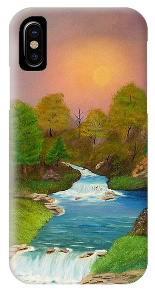 Autumn Retreat IPhone Case