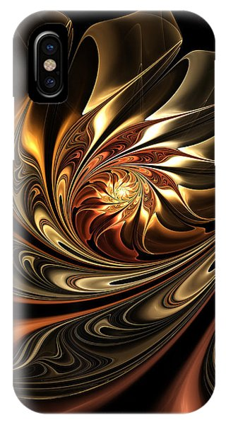 Autumn Reverie Abstract IPhone Case