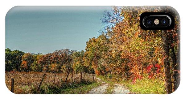 Autumn Ridge IPhone Case