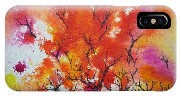 Autumn Riot IPhone Case