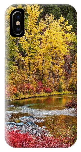 Autumn River IPhone Case