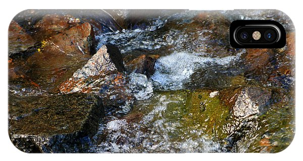Autumn River Rocks  IPhone Case