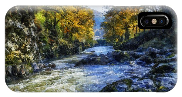 Autumn River Valley IPhone Case