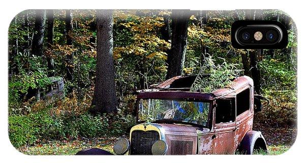 Autumn Rust IPhone Case