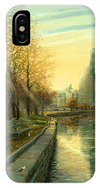 Autumn Serenity II IPhone Case