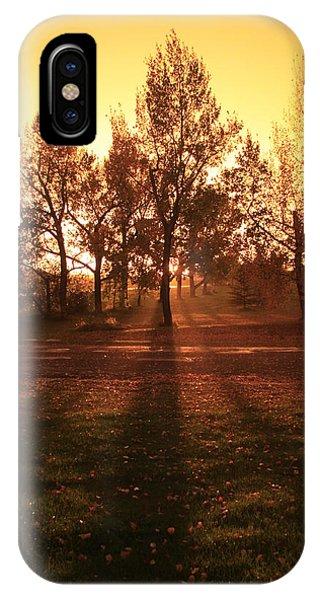 Autumn Showers IPhone Case