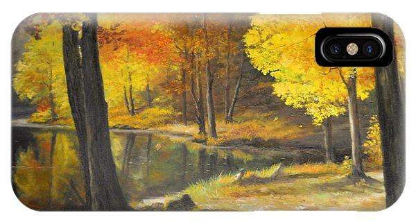 Autumn Silence  IPhone Case