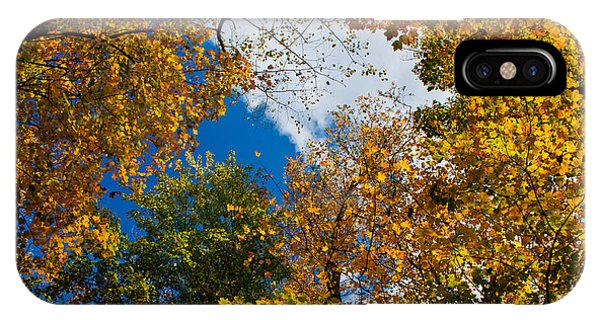 Autumn Sky Phone Case by Claus Siebenhaar