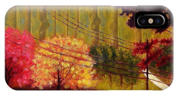 Autumn Slopes IPhone Case