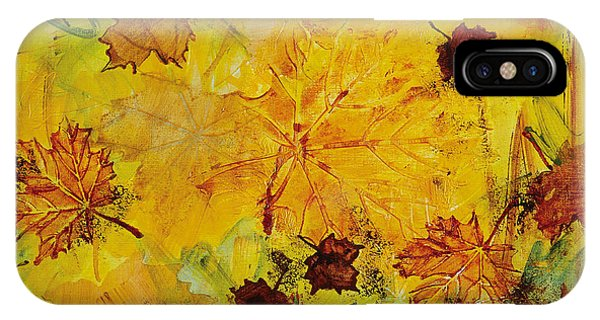iPhone Case - Autumn Song by Julie Acquaviva Hayes