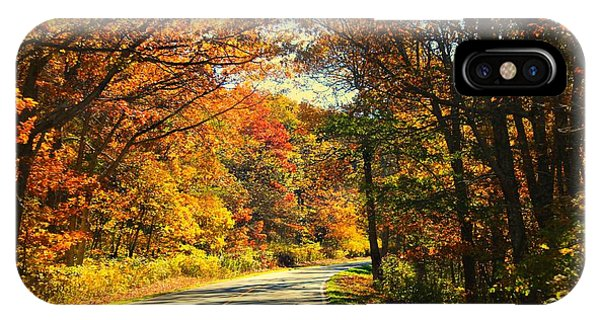 IPhone Case featuring the photograph Autumn Splendor by Candice Trimble