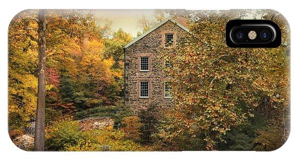 Autumn Stone Mill IPhone Case