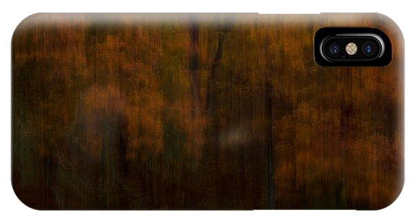Autumn Streak IPhone Case