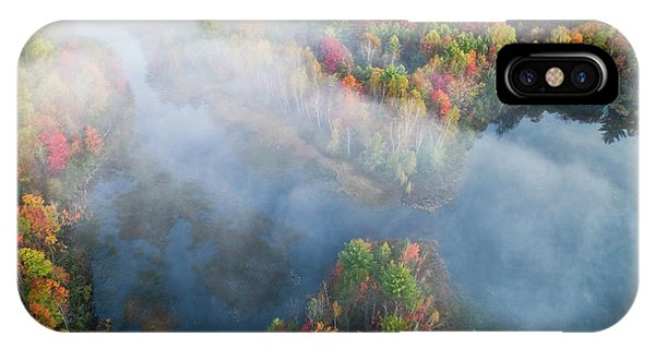 Aerial iPhone Case - Autumn Symphony I by John Fan