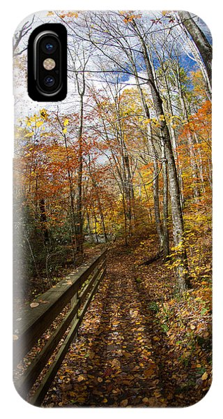 Autumn Trail IPhone Case