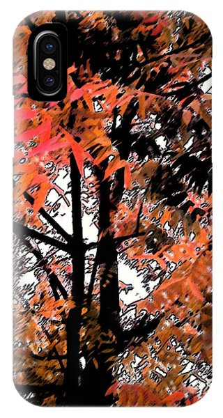 Autumn Tree 2 IPhone Case