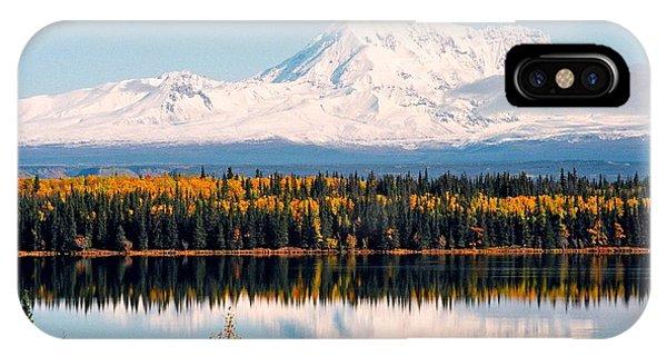 Autumn View Of Mt. Drum - Alaska IPhone Case