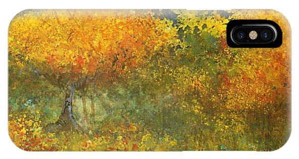 Autumn Walk Phone Case by Gwen Nichols
