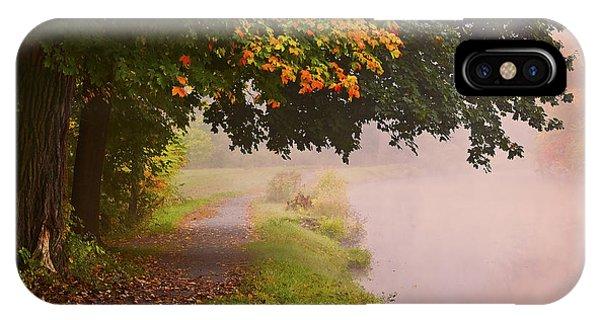 Autumn Walk Phone Case by Julie Palyswiat