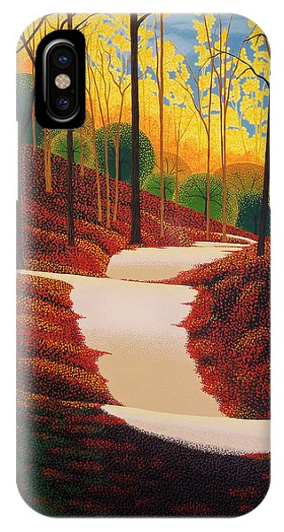 Autumn Walk Phone Case by Michael Wicksted