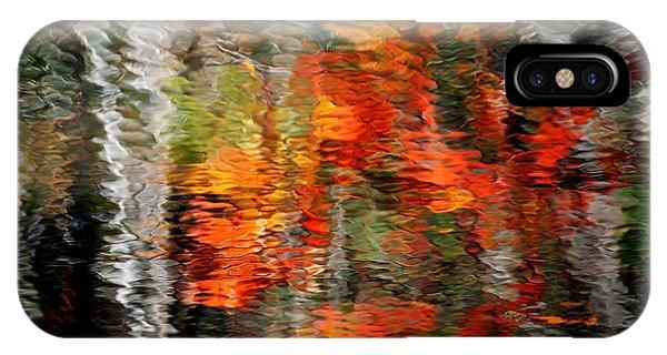 Autumn Water Colors IPhone Case