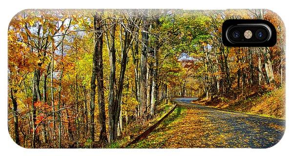 Autumn Winding Road IPhone Case