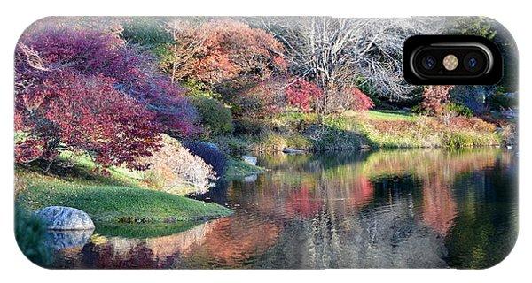 Autumn Winter Crossings Phone Case by Lena Hatch