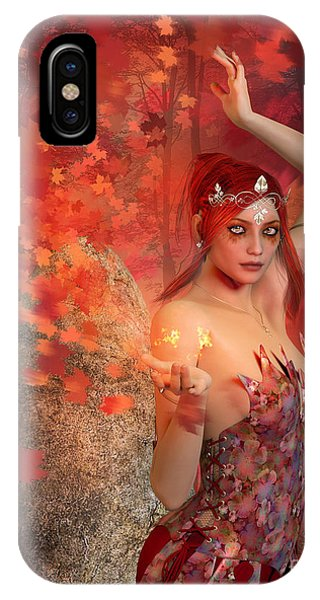 Autumn Witch IPhone Case