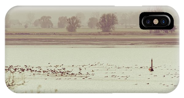 Autumnal Dreamland Iv IPhone Case