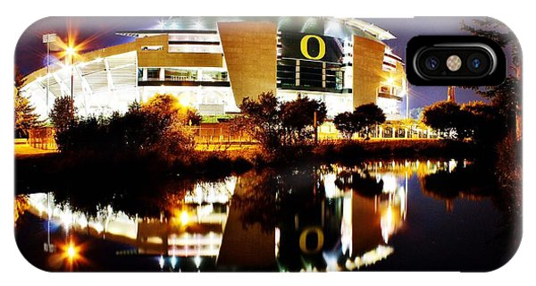 Autzen At Night IPhone Case