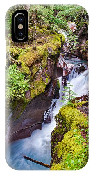 IPhone Case featuring the photograph Avalanche Gorge 3 Of 4 by Adam Mateo Fierro