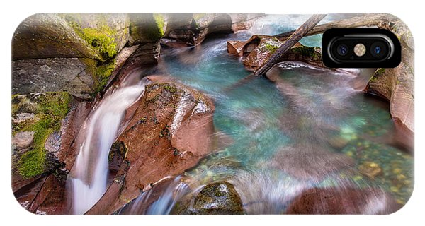 IPhone Case featuring the photograph Avalanche Gorge 4 Of 4 by Adam Mateo Fierro