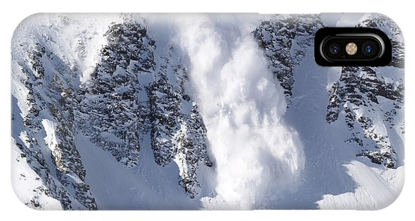 Rocky Mountain iPhone Case - Avalanche I by Bill Gallagher