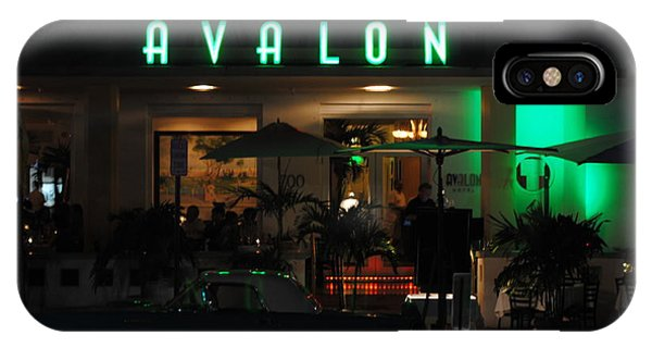 Avalon Hotel IPhone Case
