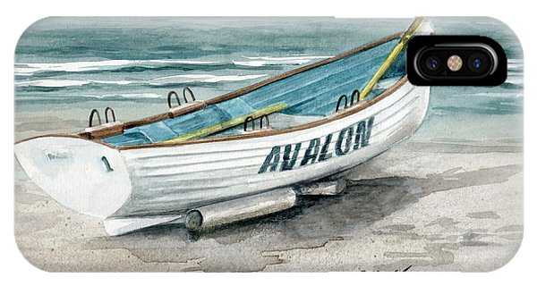 Avalon Lifeguard Boat  IPhone Case