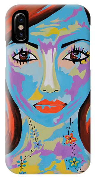 Avani - Contemporary Woman Art IPhone Case