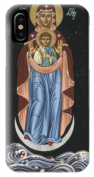 Ave Maris Stella  Hail Star Of The Sea 044 IPhone Case