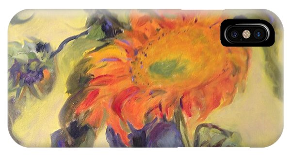 Avenging Sunflower IPhone Case