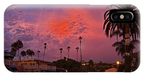 Avenida De La Playa La Jolla IPhone Case
