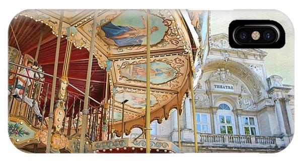 Avignon Carousel IPhone Case
