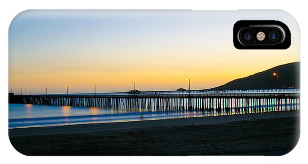 Avila Beach Pier Sunset IPhone Case