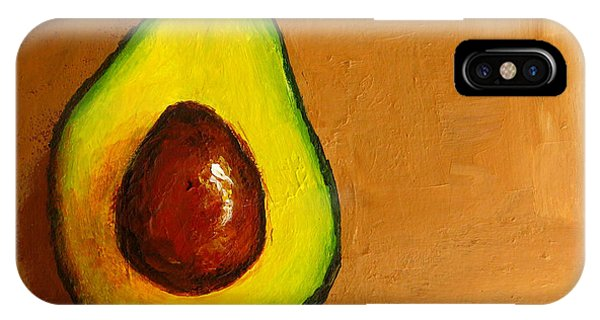 Avocado Palta Vi IPhone Case