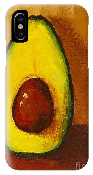 Organic Foods iPhone Case - Avocado Palta 7 - Modern Art by Patricia Awapara