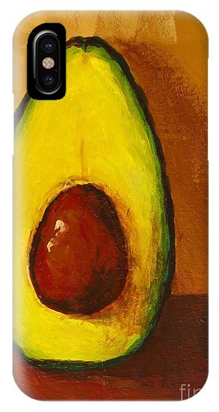 Avocado Palta 7 - Modern Art IPhone Case