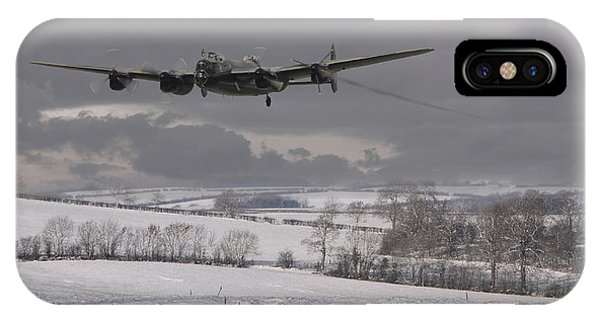 Avro Lancaster - Limping Home IPhone Case