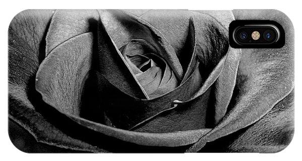 Awakened Black Rose IPhone Case