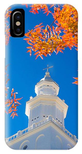 Temple iPhone Case - Awakening by Chad Dutson