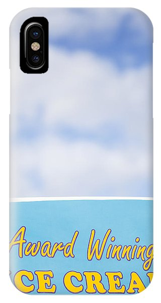 Cosmetic iPhone Case - Award Winning Ice Cream by Samuel Whitton