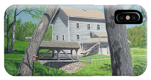 Award-winning Painting Of Beckman's Mill IPhone Case